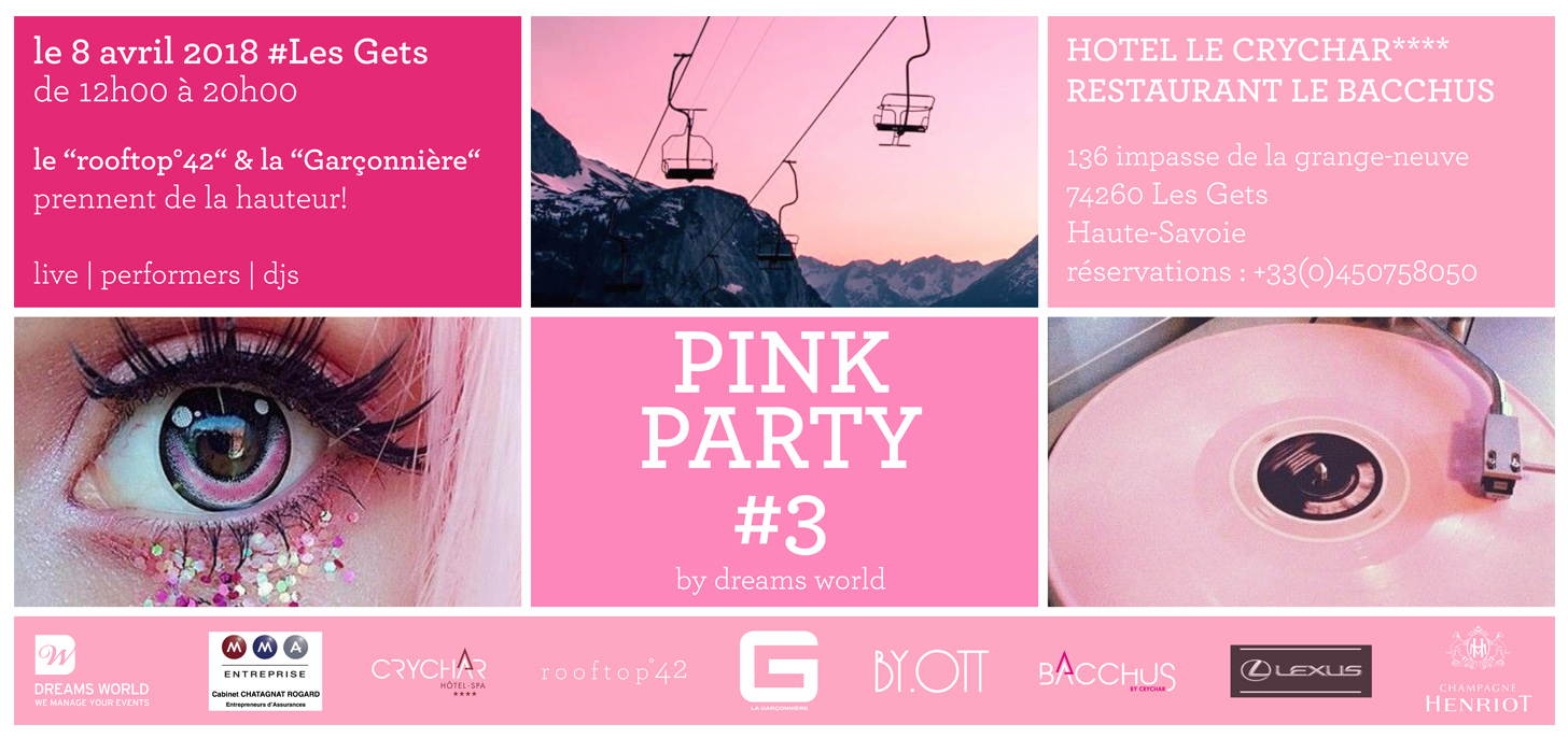 Pink Party Les Gets